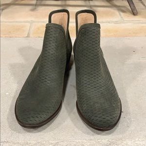 Brand New Lucky Brand Booties Size 9